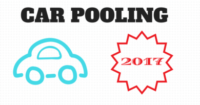 numeri del Car pooling per il 2017.