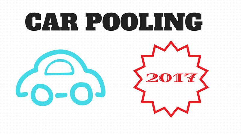 numeri del Car pooling per il 2017.