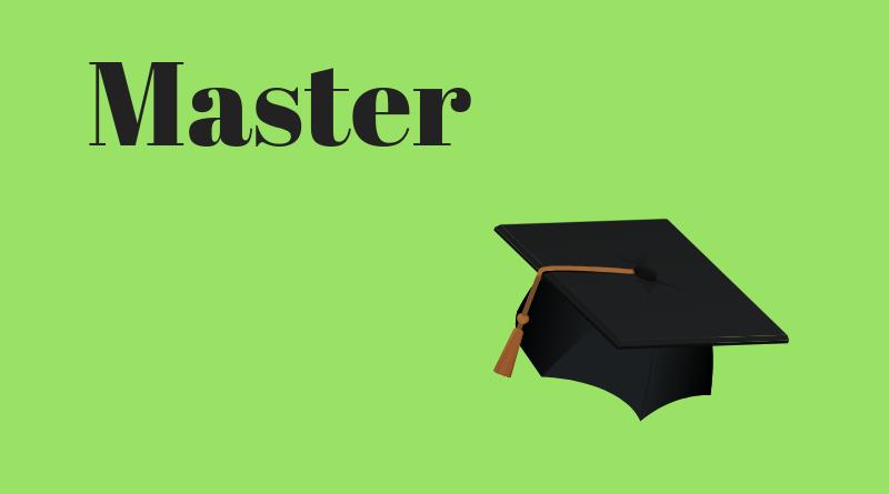 Master Breve in noleggio 2019